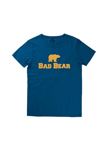 Bad Bear Tişört Mavi